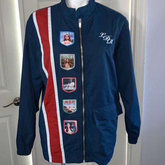 Sweaters Unisex Lana Del Rey Racing Stripe Jacket Poshmark
